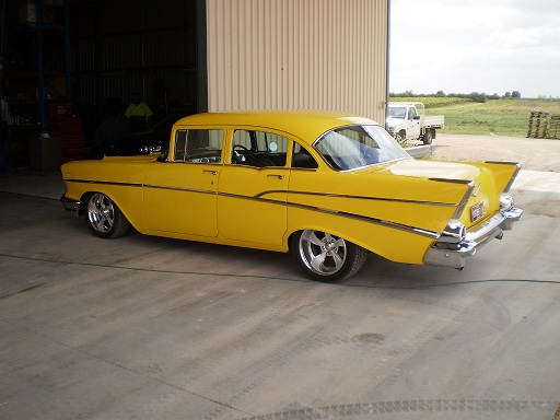 1957 Chevolet with 454 Chev