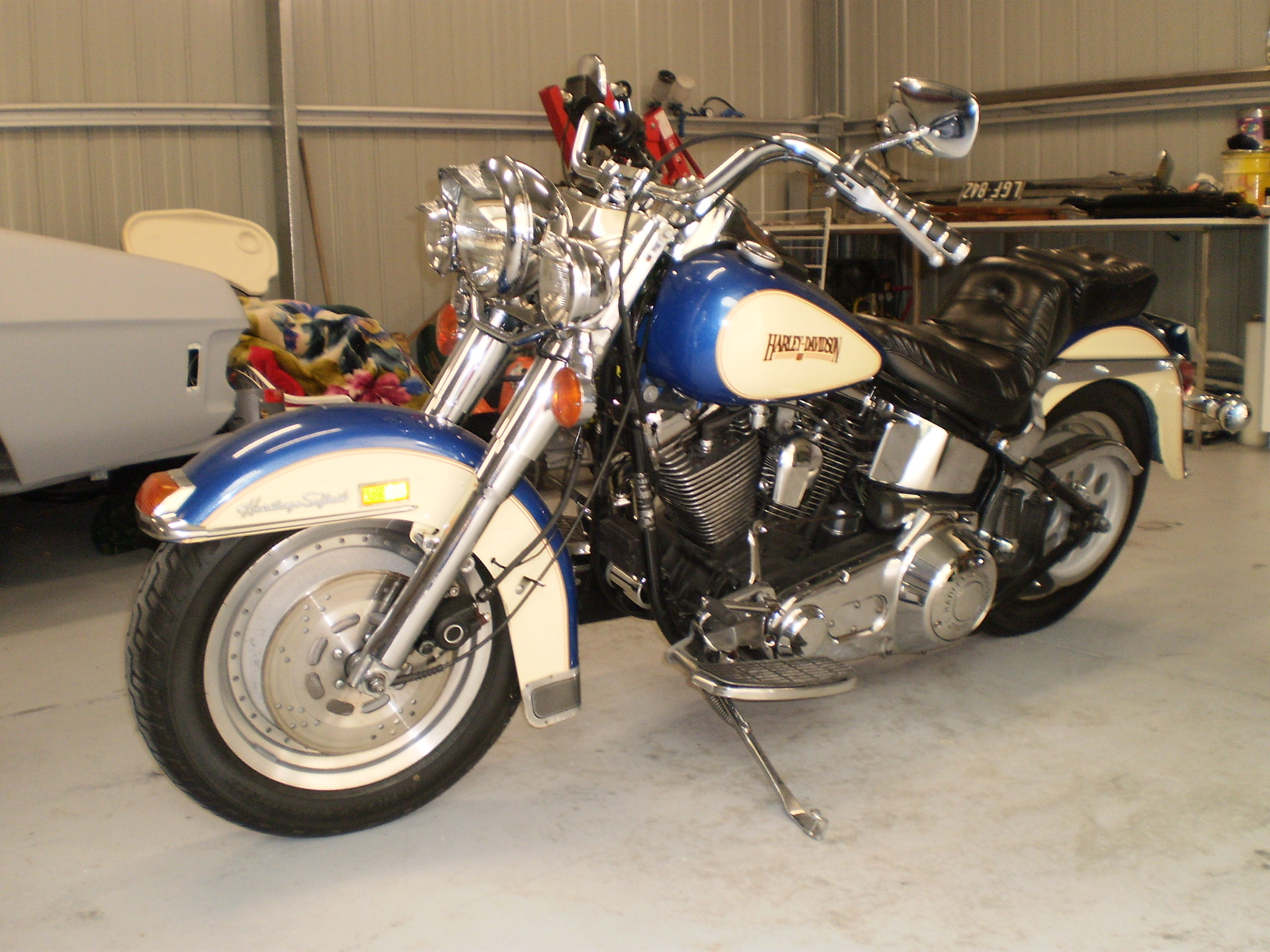 1987 Harley Heritage import
